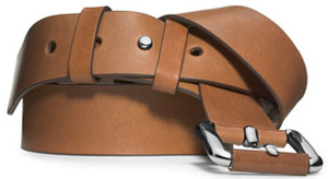 Michael Kors Leather Skinny women's belt: US$395.