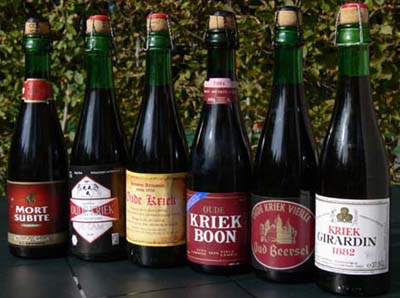 Kriek lambic beer brands.