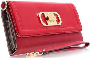 Kurt Steiger IT Nine West Red Women's Purse: £40.