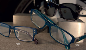 Lafont Paris men's titanium & carbon eyewear & acetate sunglasses.