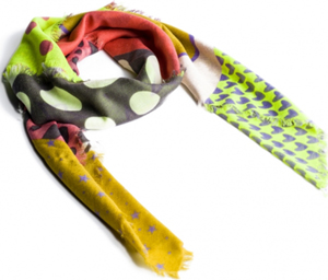 Lancaster Collage scarf: €165.