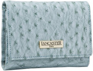 Lancaster ostrich pattern bicast leather ladies' purse: €129.