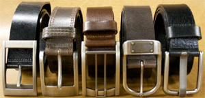 Landes men's belts.