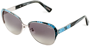 Lanvin Women's Metal & Snakeskin Sunglasses - Flex Hinges: US$500.