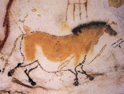 Lascaux cave paintings.
