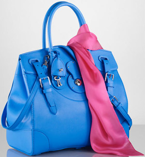 Ralph Lauren Soft Ricky Bag: US$3,500.