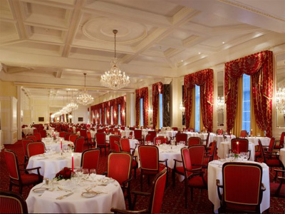 Le Grand Restaurant at Kulm Hotel.