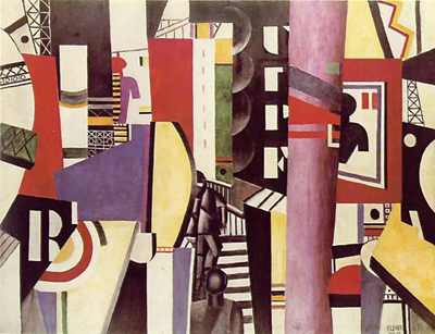 The City (1919) by Fernand Léger.