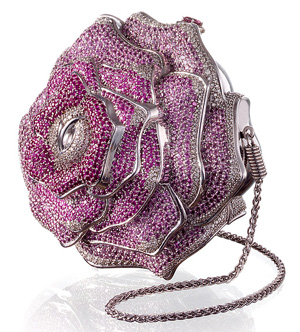 Judith Leiber Precious Rose Bag: US$92,000.