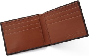 Jan Leslie Leather Crocodile Icon Men's Wallet: US$295.