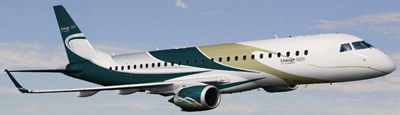 Embraer Lineage 1000.