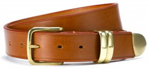 New & Lingwood Tan men's leather belt: £95.