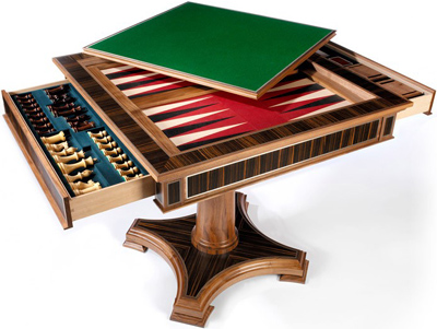 Linley Classic Games Table - Walnut: £24,500.