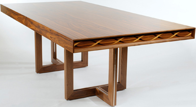 Linley Helix Dining Large Rosewood Table : £14,500.