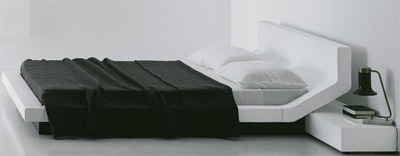 Porro Lipla Double Bed designed by Jean Marie Massaud.