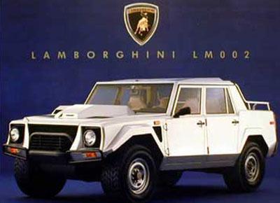 Lamborghini LM002.