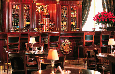 Lobby Bar at Alvear Palace hotel.
