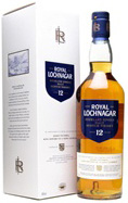 Royal Lochnagar Single Malt Whisky.