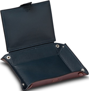 Loewe Leather Tray Box Brown: €350.