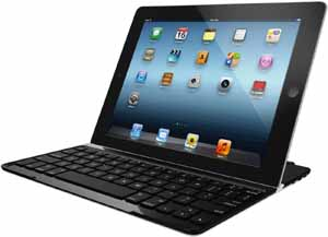 Logitech Ultrathin Keyboard Cover for iPad.