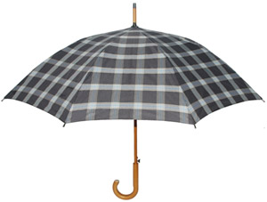 London Fog Signature Black Classic Umbrella: US$40.
