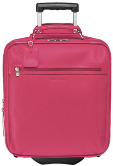 Longchamp Veau Foulonné Women's Suitcase with Wheels: US$1,505.