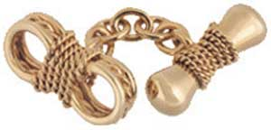 Longmire Nautical knots cufflinks: £2,940.