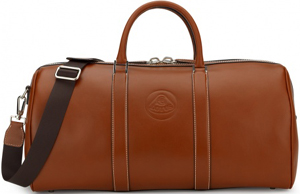Lotus Brown Leather Boston Bag: €1,293.