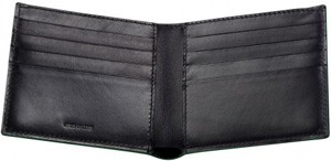 Lotus leather five card wallet: €140.80.