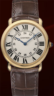 Ronde Louis Cartier Watch, Ronde Louis Cartier Collection.
