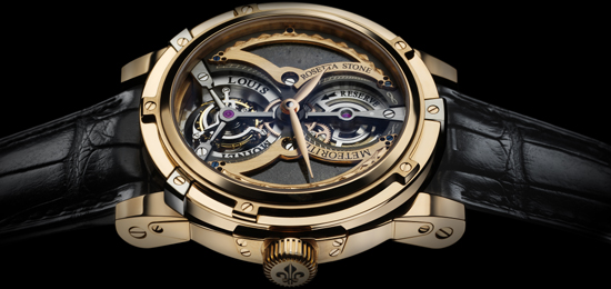 Louis Moinet Meteoris tourbillion watch: US$4,599,487.