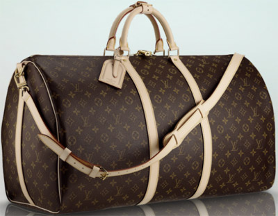 Louis Vuitton Keepall Bandoulière 60 softsided travel bag: US$2,220.
