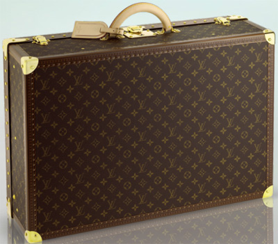 Louis Vuitton Alzer 70 hardsided suitcase: US$9,000.