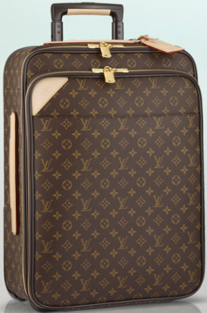 Louis Vuitton Pégase Légère  55 Business Monogram Canvas rolling luggage: US$4,000.