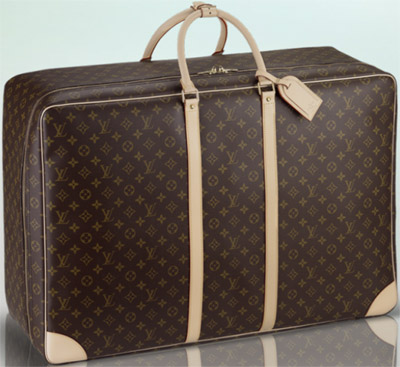 Louis Vuitton Sirius 70 softsided suitcase: US$2,350.