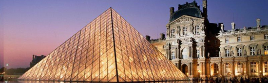 The Louvre Pyramid (Paris, France) has become Pei's most famous structure (1988).