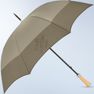 Louis Vuitton Golf Umbrella.