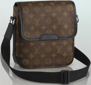 Louis Vuitton Bass PM Compact Men's Bag.