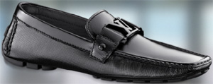 Louis Vuitton Monte Carlo Moccasin Patent Calf.