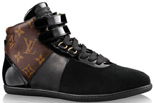 Louis Vuitton Move Up Sneaker Boot: US$895.