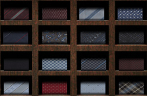 Louis Vuitton neckties.