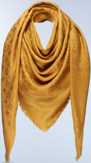 Louis Vuitton women's monogram shawl.