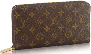 Louis Vuitton Men's Zippy Organizer Monogram Canvas: US$905.