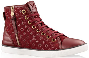 Louis Vuitton Punchy Sneaker Boot: US$815.