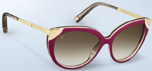 Louis Vuitton Amber Women's Sunglasses.