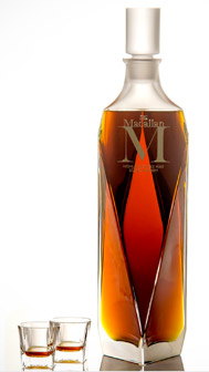 "The Macallan 6-litre ""M"" Decanter by Lalique."