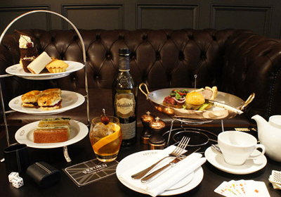 Afternoon Tea at The Mandeville Hotel, Marylebone Village, Mandeville Place, London W1U 2BE, England, U.K.