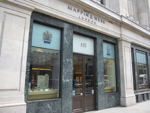 Mappin & Webb, 132 Regent St, London W1B 5SF, U.K.