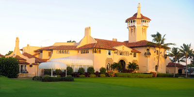 The Mar-a-Lago Club, 1100 S Ocean Boulevard.