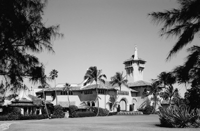 Mar-A-Lago, 1100 S. Ocean Blvd., Palm Beach, FL 33480, U.S.A..